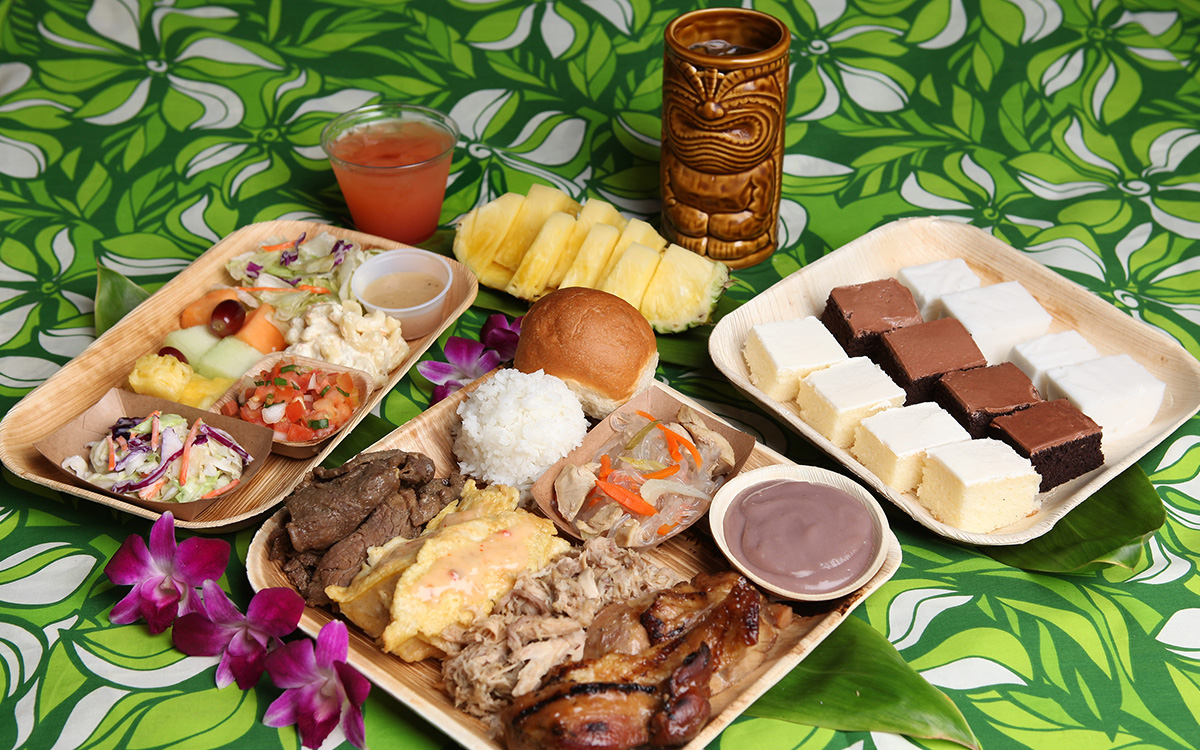 luau menu hawaii menu | luau party food honolulu | germaine's luau